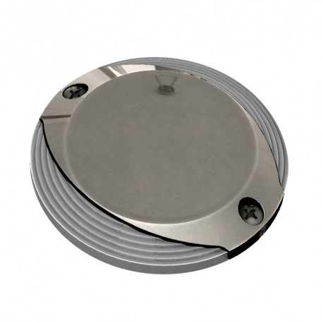 Lumitec Scallop Pathway Light - Spectrum RGBW - Stainless Steel Housing