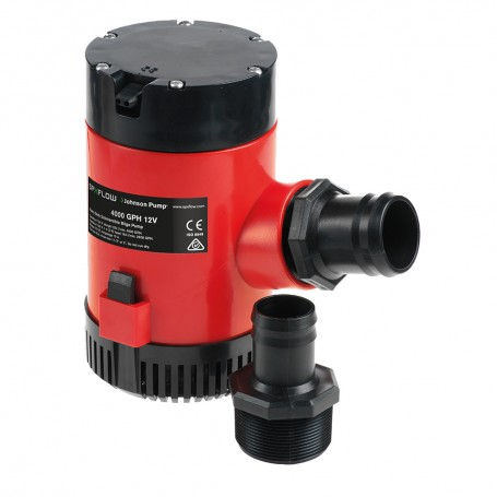 Johnson Pump Heavy Duty Bilge Pump 4000 GPH - 24V