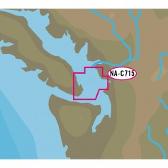 C-MAP NT- NA-C715 FP Format - San Juan Islands