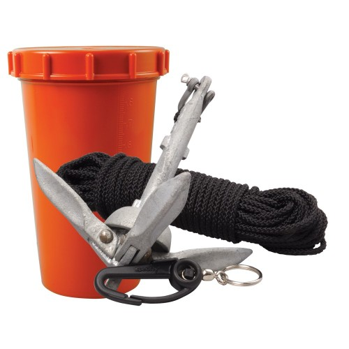 Scotty Anchor Kit - 1-5lbs Anchor - 50- Nylon Line