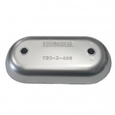 Tecnoseal Magnesium Hull Plate Anode 8-3-8- x 4-1-32- x 1-1-16-