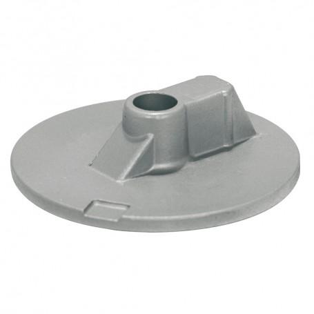 Tecnoseal Mercury-Mercruiser Zinc Flat Trim Tab Anode - No Threads