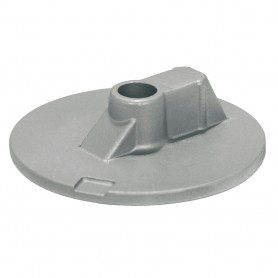 Tecnoseal Mercury-Mercruiser Aluminum Flat Trim Tab Anode - No Threads