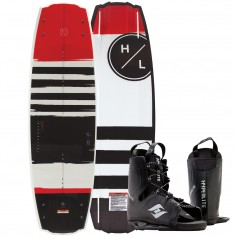 Hyperlite Franchise Wakeboard 138 cm w-Frequency Boot - 2019 Edition