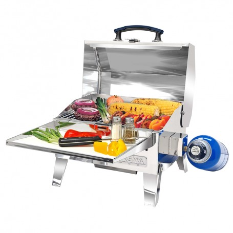 Magma Rio Adventurer Marine Series Grill - 9x12 in- -22-9x30-5 cm- Cooking Grate Size