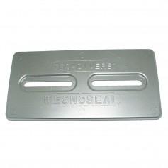 Tecnoseal Aluminum Plate Anode - 12- x 6- x 1-2-
