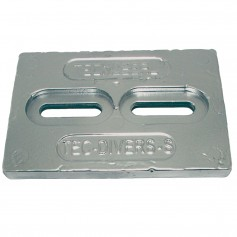 Tecnoseal Mini Magnesium Plate Anode 6- x 4- x 1-2-