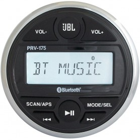 JBL PRV 175 AM-FM-USB-Bluetooth Gauge Style Stereo