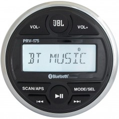 JBL PRV 175 AM-FM-USB-Bluetooth Gauge Style Stereo