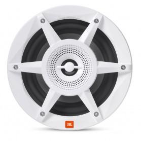 JBL 6-5- Coaxial Marine RGB Speakers - White STADIUM Series
