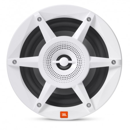 JBL 6-5- Coaxial Marine RGB Speakers - White STADIUM Series