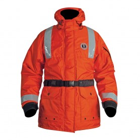 Mustang ThermoSystem Plus Flotation Coat - Orange - Small