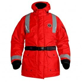 Mustang ThermoSystem Plus Flotation Coat - Red - Small