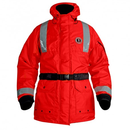 Mustang ThermoSystem Plus Flotation Coat - Red - Medium