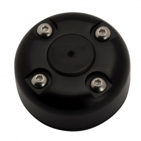 Seaview Cable Gland w-Cover - Black Powder Coated - Stainless Steel Wire - Size 2-10mm