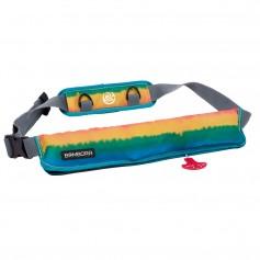 Bombora 16oz Inflatable Belt Pack - Rasta
