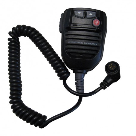 Standard Horizon Replacement VHF MIC f-GX5500S - GX5500SM - Black