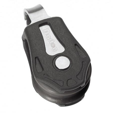 Barton Marine Series 0 Single Fixed Eye Block - 20mm