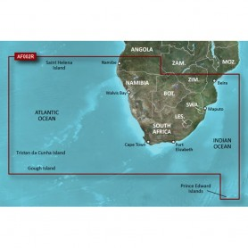 Garmin BlueChart g2 HD - HXAF002R - South Africa - microSD-SD