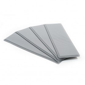SeaDek Embossed 5mm 4-Piece Step Kit - 3-75- x 12-75- - Storm Gray