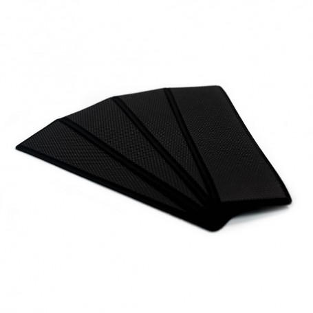 SeaDek Embossed 5mm 4-Piece Step Kit - 3-75- x 12-75- - Black