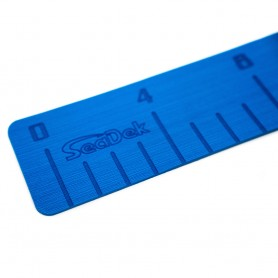 SeaDek 4- x 36- 3mm Fish Ruler w-Laser SD Logo - Bimini Blue