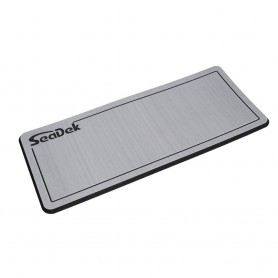 SeaDek Dual Density Helm Pad - 14- x 36- 20mm - Small - Storm Gray w-Black Laser SD Logo