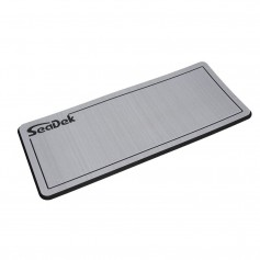 SeaDek Dual Density Helm Pad - 14- x 36- 20mm - Small - Storm Gray w-Black Laser SD Logo