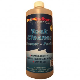 Tip Top Teak Teak Cleaner Part B - Quart
