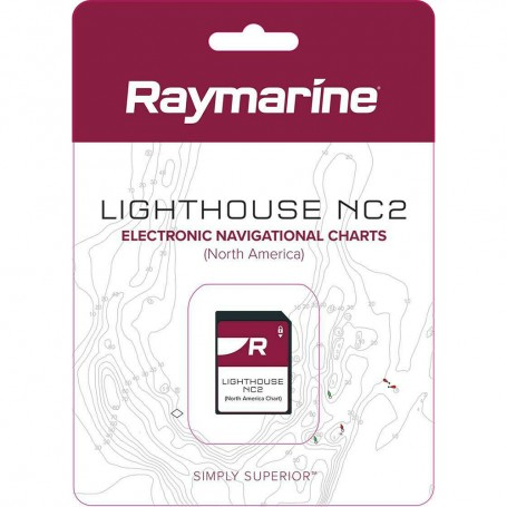 Raymarine LightHouse NC2 Chart - Electronic Navigational Charts - North America