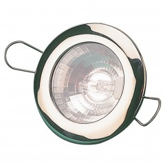 Sea-Dog LED Overhead Light 2-7-16- - Brushed Finish - 60 Lumens - Clear Lens - Stamped 304 Stainless Steel