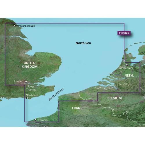 Garmin BlueChart g3 HD - HXEU002R - Dover to Amsterdam England Southeast - microSD-SD