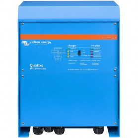 Victron Quattro Inverter-Charger 48 VDC - 5000W - 200AMP Battery Charger - 50AMP Transfer Switch