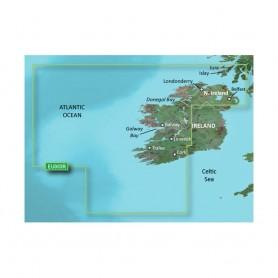 Garmin BlueChart g3 HD - HEU005R - Ireland- West Coast - microSD-SD