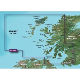 Garmin BlueChart g3 HD - HXEU006R - Scotland West Coast - microSD-SD