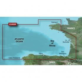 Garmin BlueChart g3 HD - HXEU008R - Bay of Biscay - microSD-SD