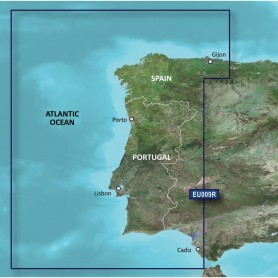 Garmin BlueChart g3 HD - HXEU009R - Portugal Northwest Spain - microSD-SD