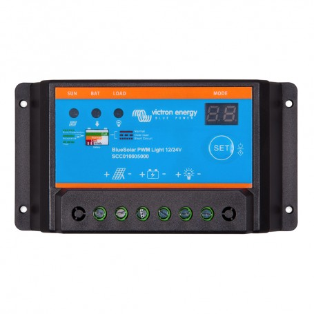 Victron BlueSolar PWM-Light Charge Controller - 12-24V - 10AMP