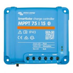 Victron SmartSolar MPPT Charge Controller - 75V - 15AMP