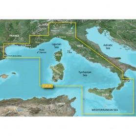 Garmin BlueChart g3 HD - HXEU012R - Italy West Coast - microSD-SD