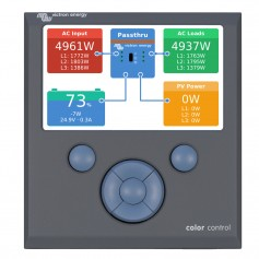 Victron Color Control GX Monitor - Button Control