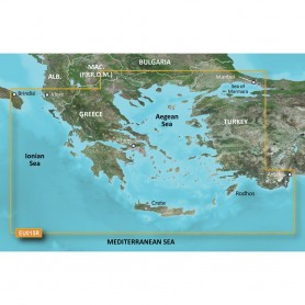 Garmin BlueChart g3 HD - HXEU015R Aegean Sea Sea of Marmara - microSD-SD