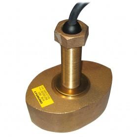 Furuno CA50-200-12M Bronze Thru-Hull Transducer- 1kW -No Plug-