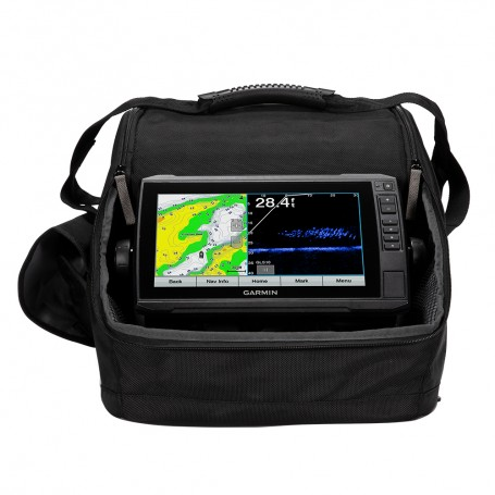 Garmin Panoptix LiveScope Ice Fishing Bundle - Includes ECHOMAP Plus 93sv