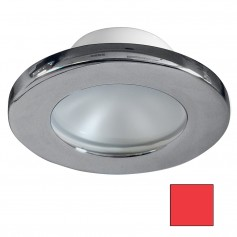 i2Systems Apeiron A3100Z Screw Mount Light - Red - Brushed Nickel Finish