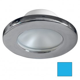 i2Systems Apeiron A3100Z Screw Mount Light - Blue - Brushed Nickel Finish