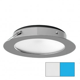 i2Systems Apeiron Pro XL A526 - 6W Spring Mount Light - Cool White-Blue - Polished Chrome Finish