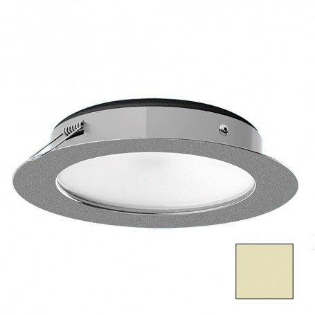 i2Systems Apeiron Pro XL A526 - 6W Spring Mount Light - Warm White - Brushed Nickel Finish