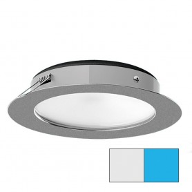 i2Systems Apeiron Pro XL A526 - 6W Spring Mount Light - Cool White-Blue - Brushed Nickel Finish