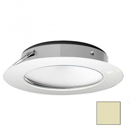 i2Systems Apeiron Pro XL A526 - 6W Spring Mount Light - Warm White - White Finish